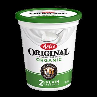 Astro Original Balkan Organic Plain 2% 650 g