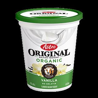 Astro Original Balkan Organic Vanilla 650 g