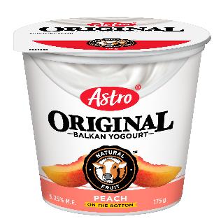 Astro Original Balkan Fruit on the Bottom Peach 175 g