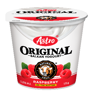 Astro Original Balkan Fruit on the Bottom Raspberry 175 g
