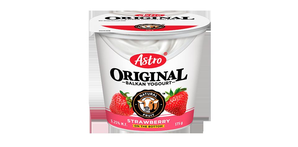 Astro Original Balkan Fruit on the Bottom Strawberry 175 g