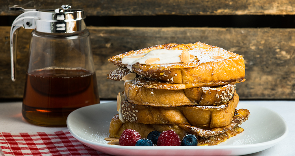 Salted Caramel French Toast