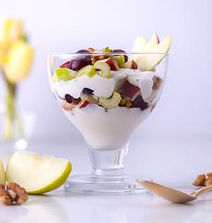 Savoury Parfait (Waldorf Salad)