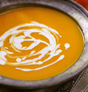 Carrot, Apple and Ginger Soup