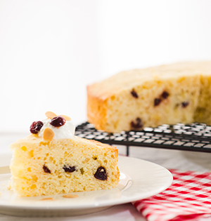 Cranberry Snacking Cake