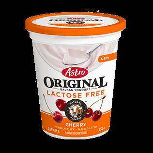 Astro Original Lactose Free Cherry 650 g