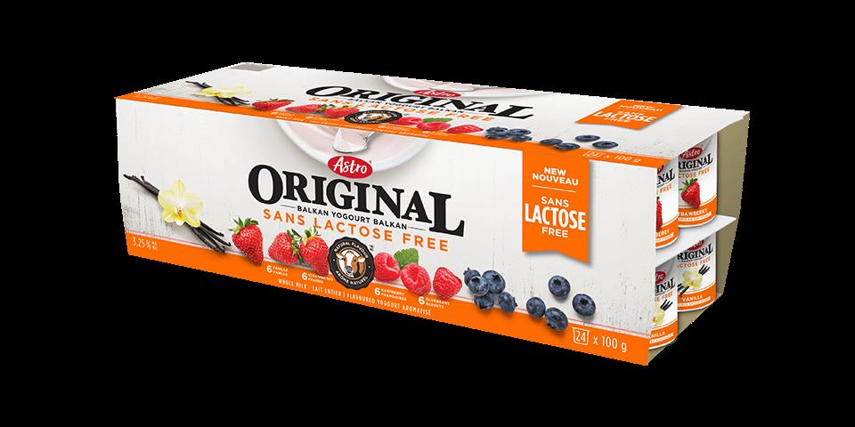 Astro® Original Lactose Free Vanilla / Strawberry