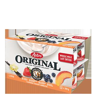 Astro Original Balkan Flavoured Peach / Strawberry / Blueberry / Vanilla 12 x 100g