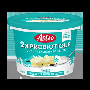Kéfir probiotique Astro Original Vanille 500 g