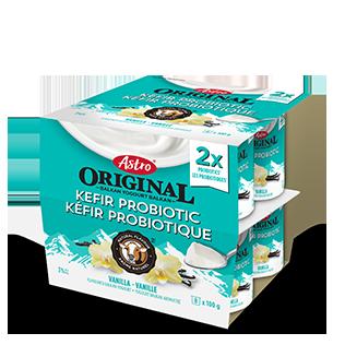 Astro Original Kefir Probiotic Vanilla 8 x 100 g