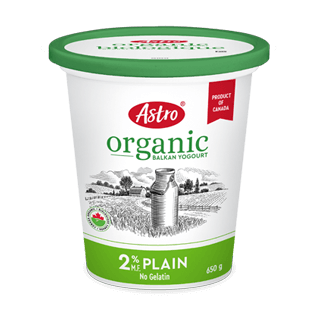 Astro® Original Balkan Organic Plain 2% 650 g