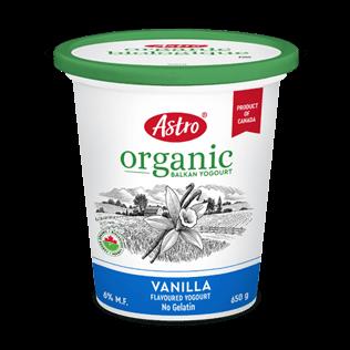 Astro® Original Balkan Organic Vanilla 650 g
