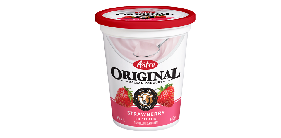 Astro Original Balkan Strawberry 650g