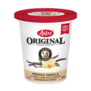 Astro® Original Balkan French Vanilla 750 g
