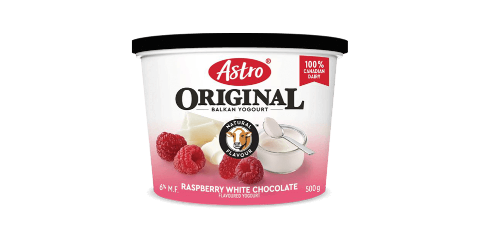 Astro® Original Balkan Raspberry White Chocolate 500g