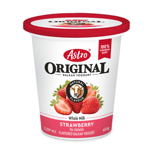 Astro® Original Balkan Strawberry 650 g