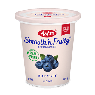 Astro® Smooth 'n Fruity® Blueberry 650 g