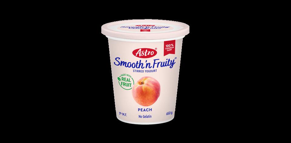 Astro® Smooth 'n Fruity® Peach 650 g