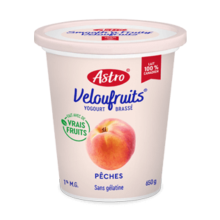 Astro® VelouFruits® Pêches 650 g