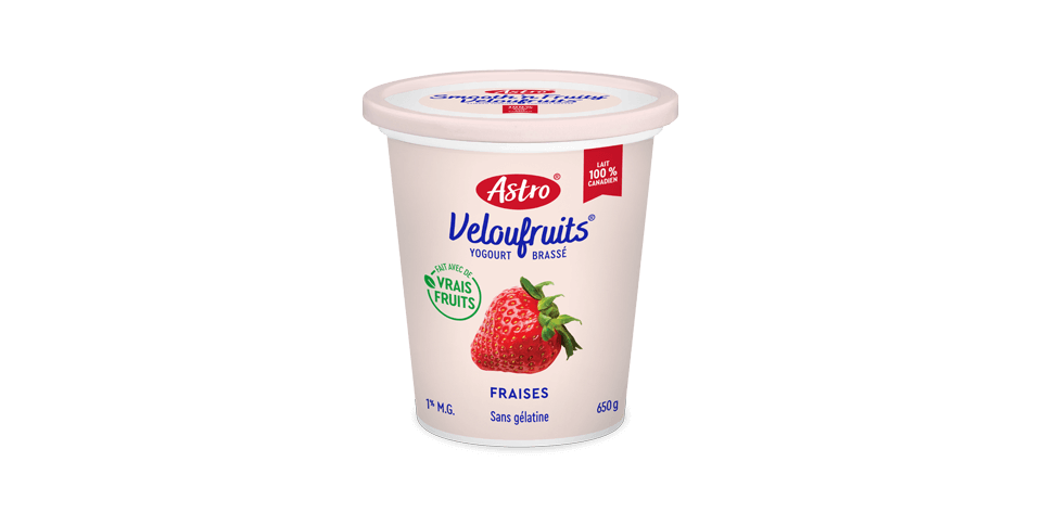 Astro® VelouFruits® Fraises 650 g