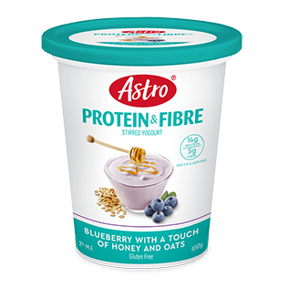 Astro® Protein & Fibre Blueberry with a Touch of Honey and Oats
