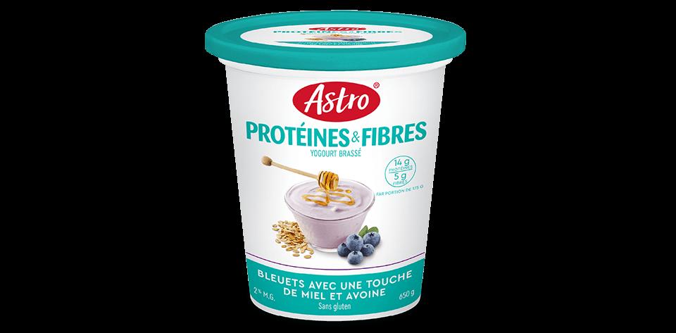 Astro® Protéines & Fibres Bleuets avec une Touche de Miel et Avoine