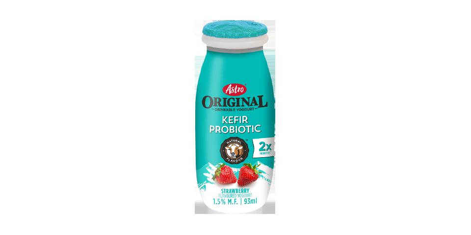 Astro Original Kefir Probiotic Drinkable Yogourt Strawberry