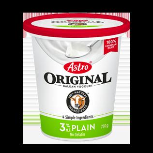 Astro® Original Balkan Plain 3% 750 g