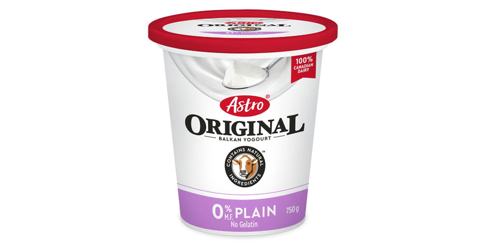 Astro Original Plain 0% 750g