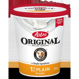 Astro Original Plain 1% 750g
