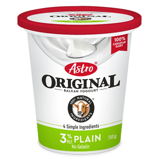 Astro Original Plain 3% 750g