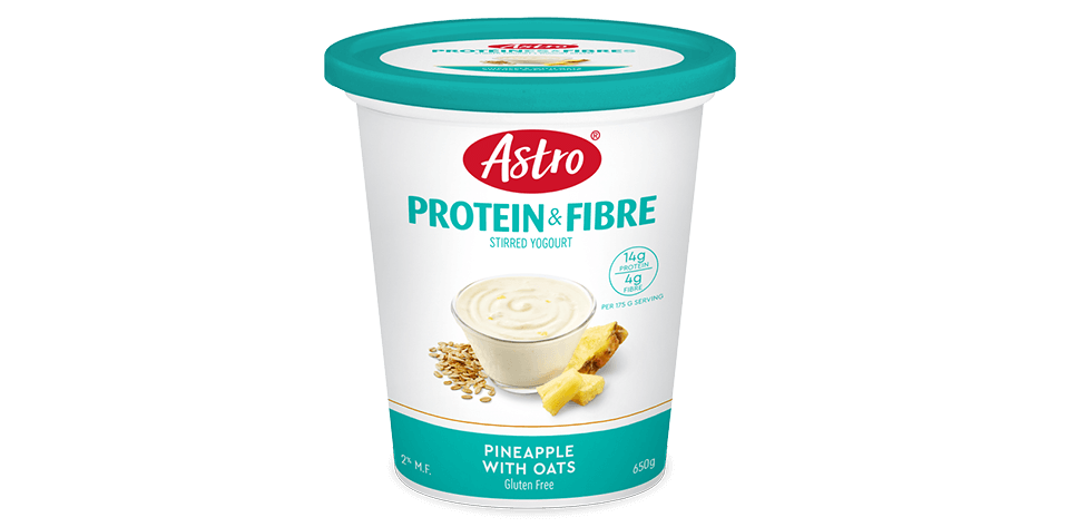 Astro® Protein & Fibre Pineapple with Oats