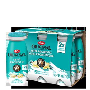 Astro Original Kefir Probiotic Drinkable Yogourt Vanilla