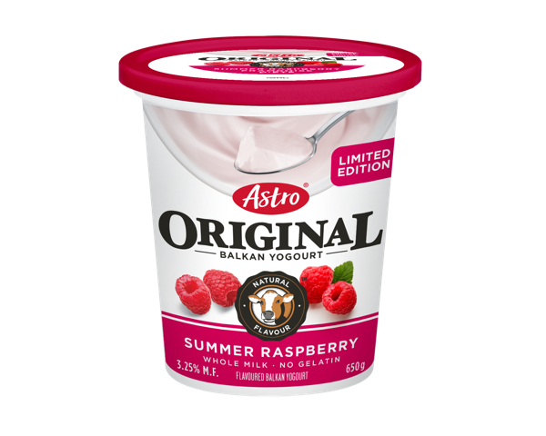 Astro Original Balkan Limited Edition - Summer Raspberry 650g