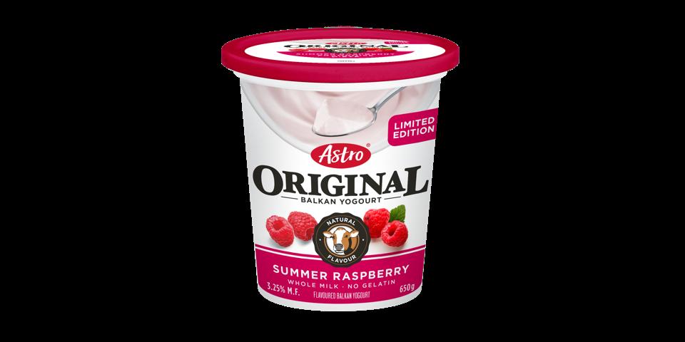 Astro Original Balkan Limited Edition - Summer Raspberry 650g