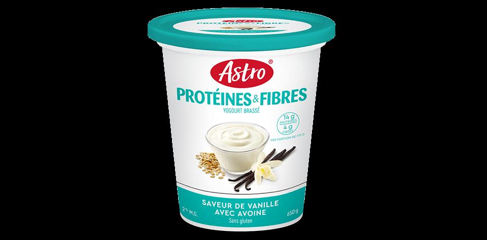 Astro® Protéines & Fibres Saveur de Vanille avec Avoine