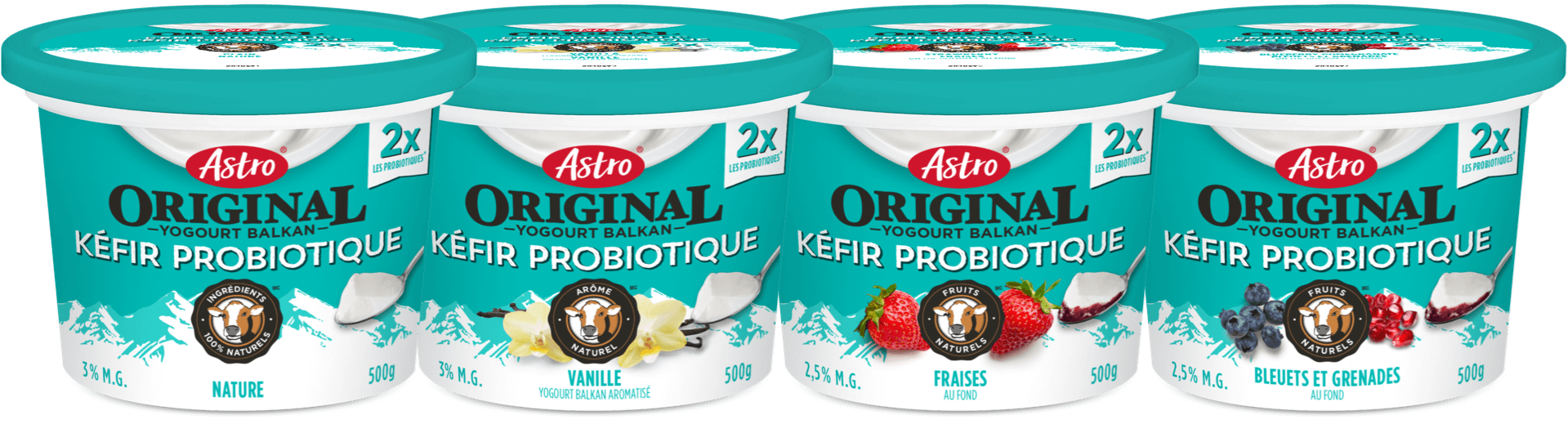 Image of Astro Original Kefir Probiotic products.